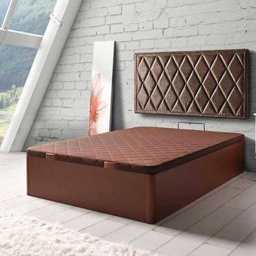 Canapé abatible gran capacidad en madera.