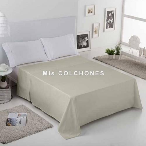 Juego de sábanas liso en Algodón Percal