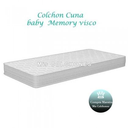 Colchón cuna Baby Memory Visco.