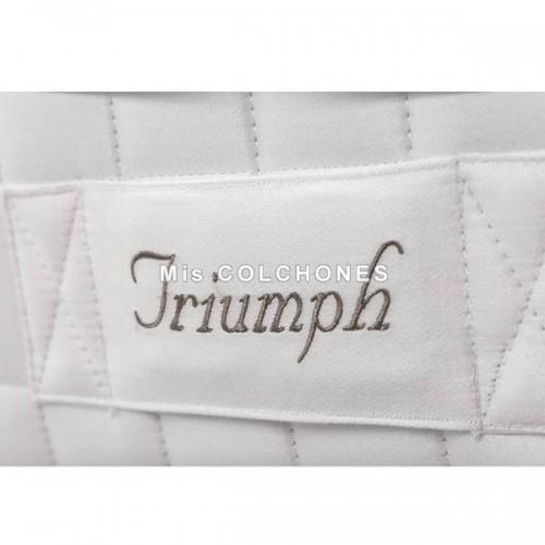 colchón triumph de dunlopillo