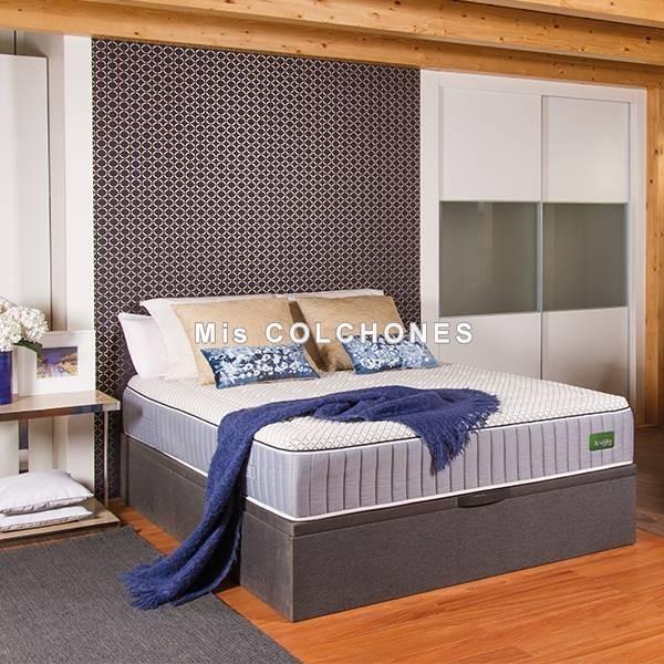 Colchón de muelle ensacado personalizable B200 hibrido Bespoke de