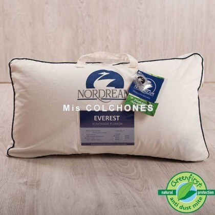 Almohada Duvet Everest Doble Funda de Nordream.