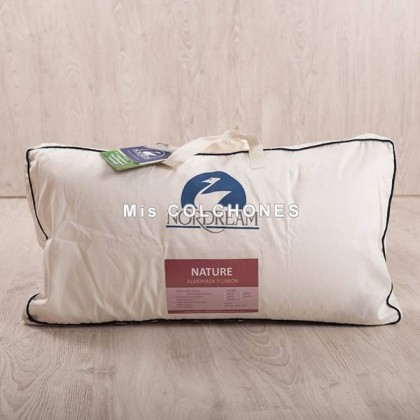 Almohada Duvet Nature Doble Funda.