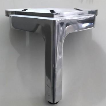 Pata Treca Colette Aluminio Pulido.