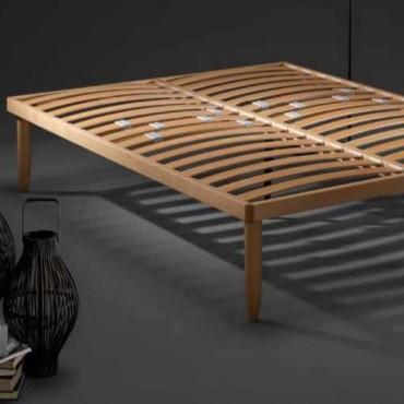 Somier de madera Natural Basic + Dorelan