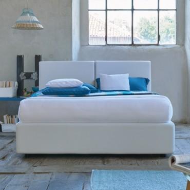 Cama Blogger con canapé abatible Textil Arca, Altura 104