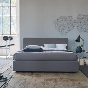 Cama Daily con canapé abatible polipiel Atom Altura 104 cm