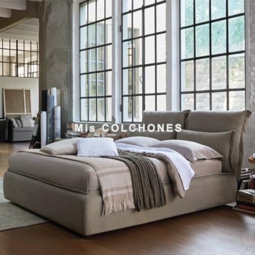 Cama Somnia con canapé abatible Textil joint de Dorelan
