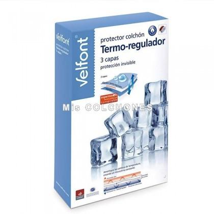 Protector Colchón Termo-regulador 3 capas Velfont.