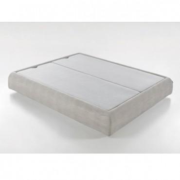 Canapé Cape con base tapizada Polipiel Atom