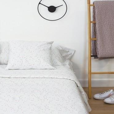 Funda nórdica Lily Pink en algodón Jersey