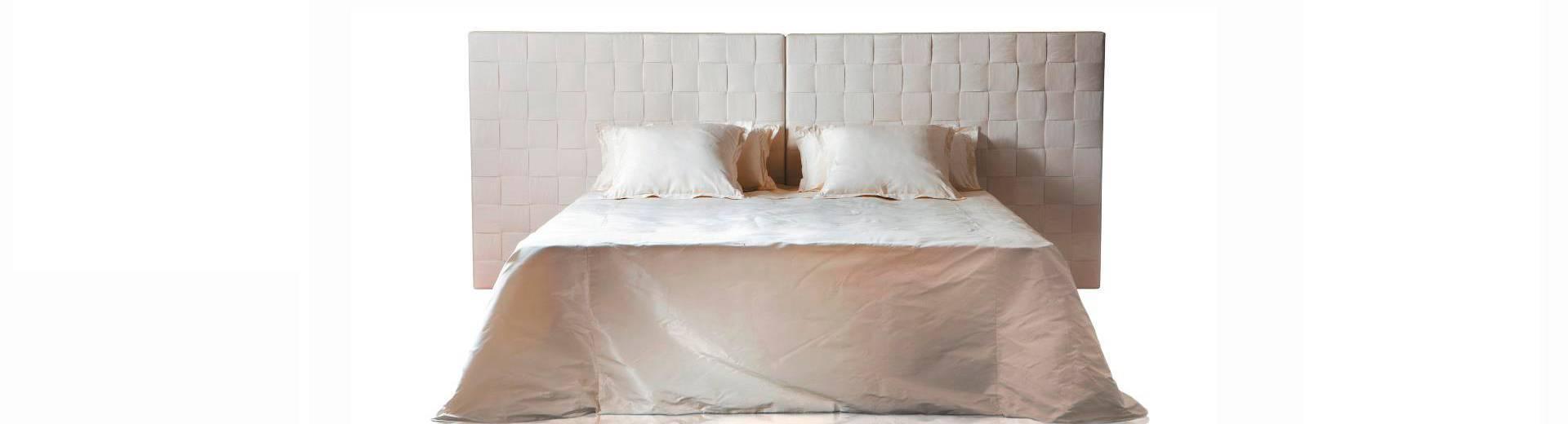 Comprar cabezales de cama en forja tapizados y en madera - Cabezales de cama de madera ...